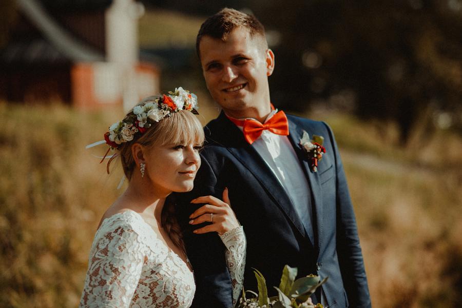 Plenerowa sesja ślubna w górach | Mala Upa | Karolina i Dawid
